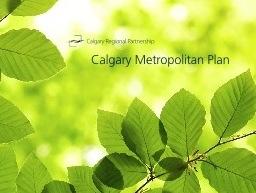 Calgary Metropolitan Plan – Updates